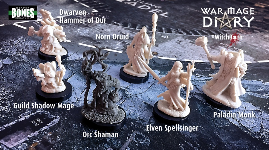 WitchBorn: Minis & More